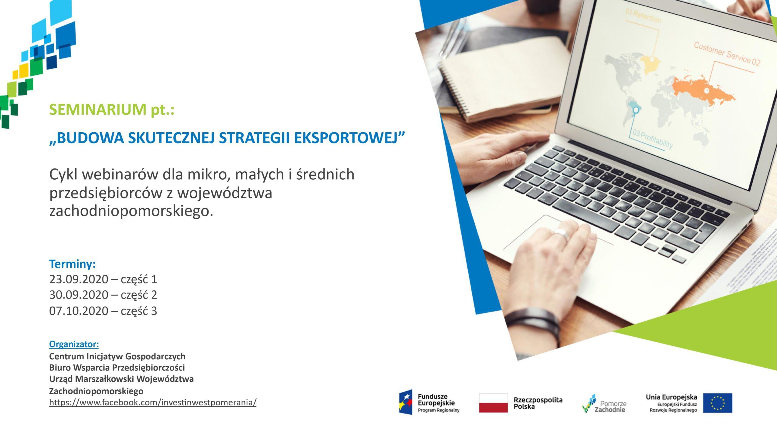 Jak budować skuteczną strategię eksportową? Cykl bezpłatnych webinarów